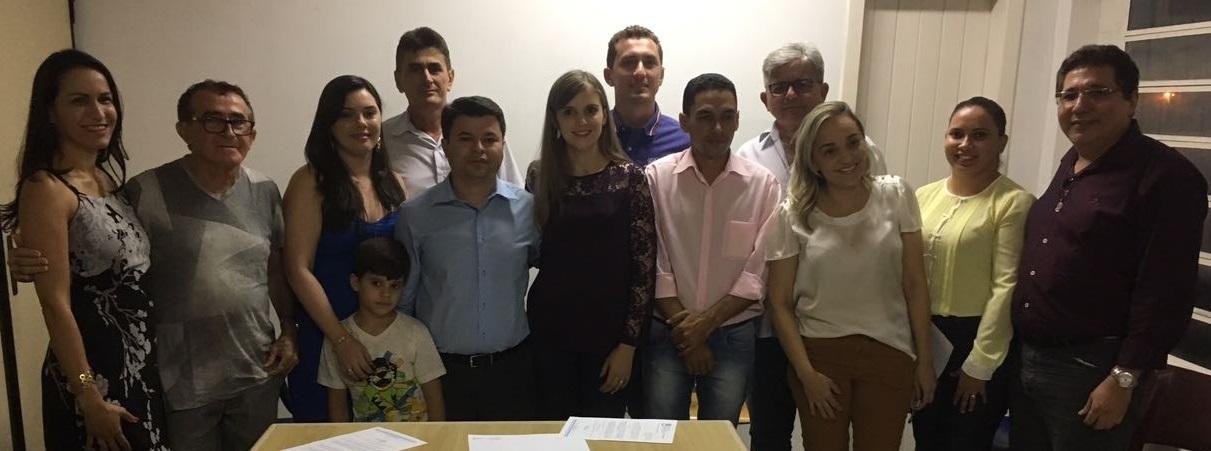 Prefeito Joacy Júnior empossa o novo secretariado.